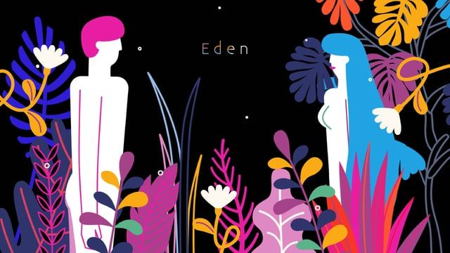 'Eden'  The beginning of mankind and the very first love  Directed by Shinyoung Kim  Sound track : Basenji - Dawn  Genre : Music video  Duration : 02'53''  More artworks at https://www.behance.net/gallery/32323541/Eden http://www.shin0kim.com/Eden