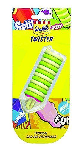 Wall's Ice Cream Twister Tropical Car Air Freshner