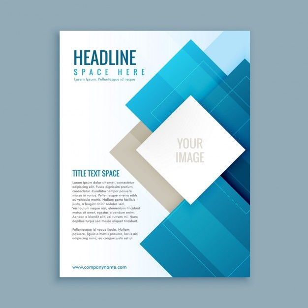 Plantilla moderna de folleto de negocios Vector Gratis                                                                                                                                                      Más                                                                                                                                                      Más