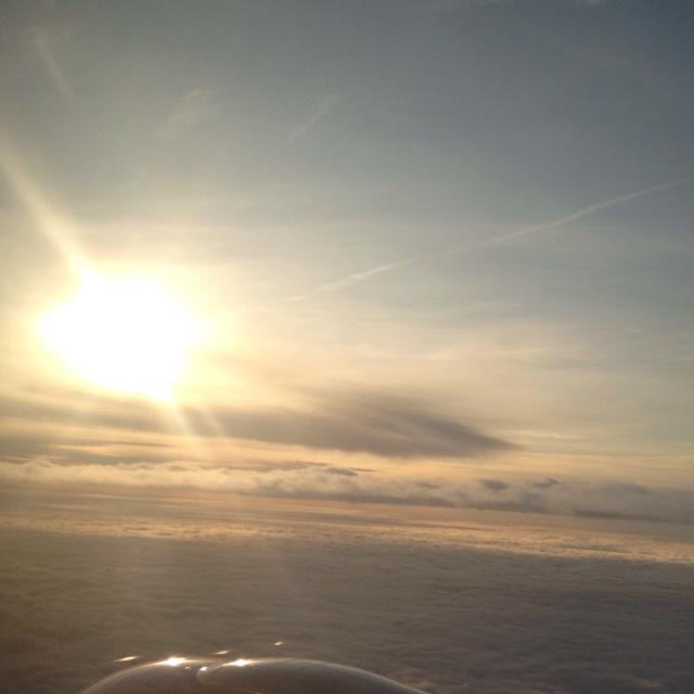 Sunny flights instead of grey railway
