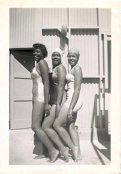 1940's African American Bathing Beauties