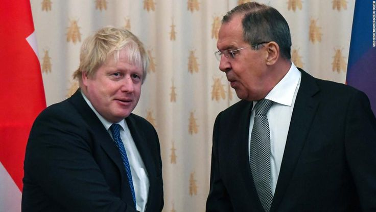 Russia-UK relations at 'a very low point' - Lavrov  ||  UK Foreign Secretary Boris Johnson and his Russian counterpart Sergey Lavrov acknowledged problems in their countries' relationship after meeting in Moscow. http://www.cnn.com/2017/12/22/europe/russia-uk-relations-lavrov-johnson-intl/index.html?utm_campaign=crowdfire&utm_content=crowdfire&utm_medium=social&utm_source=pinterest