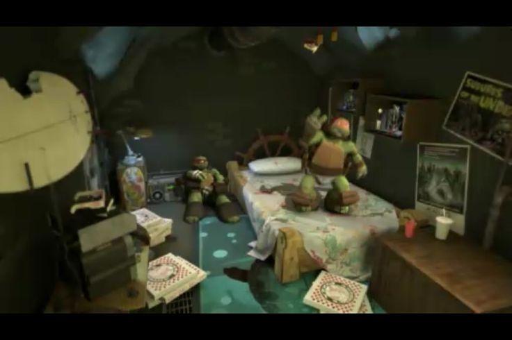 Mikey S Room Teenage Mutant Ninja Turtles Ninja Turtles