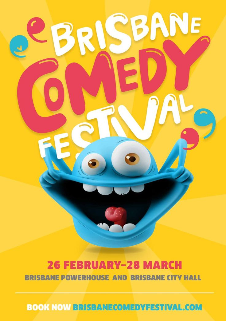 Image result for comedy festival poster