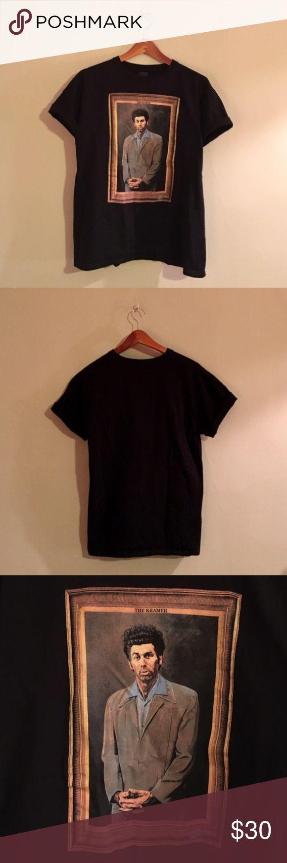 Vintage Kramer Seinfeld T-shirt Vintage style 90s Kramer Seinfeld shirt Vintage Shirts Tees - Short Sleeve
