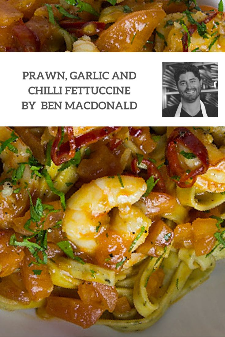 Summer, Autumn, Winter, Spring... This Prawn, Garlic and Chilli Fettuccine recipe by Masterchef star and Angelo's Pasta feature foodie, Ben MacDonald is the perfect meal for all seasons. Quick and easy to make, full of flavour and impressive to look at, there is a lot to love!
