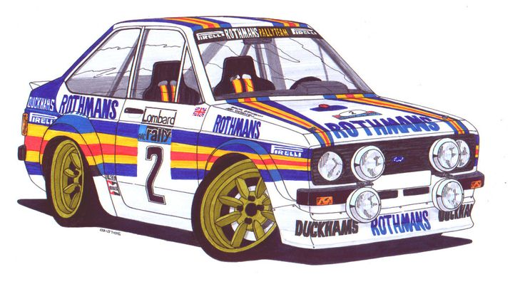 Ari Vatanen - MkII escort by SquidInc on DeviantArt