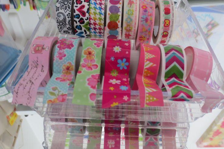 Como Organizar Washi Tapes | Como Organizar envoltura para regalos