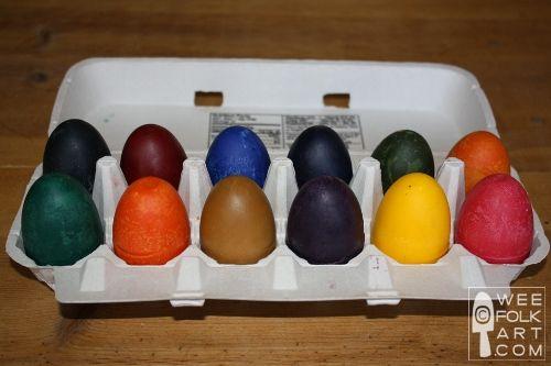 Homemade soy crayonsSoy Wax, Homemade Soy, Wee Folk, Folk Art, Soy Crayons, Crayons Eggs, Wax Crayons, Crayons Diy, Eggs Crayons