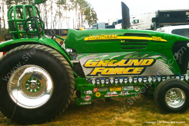 ground force john deere tractor pull owned by mike whitney. Black Bedroom Furniture Sets. Home Design Ideas