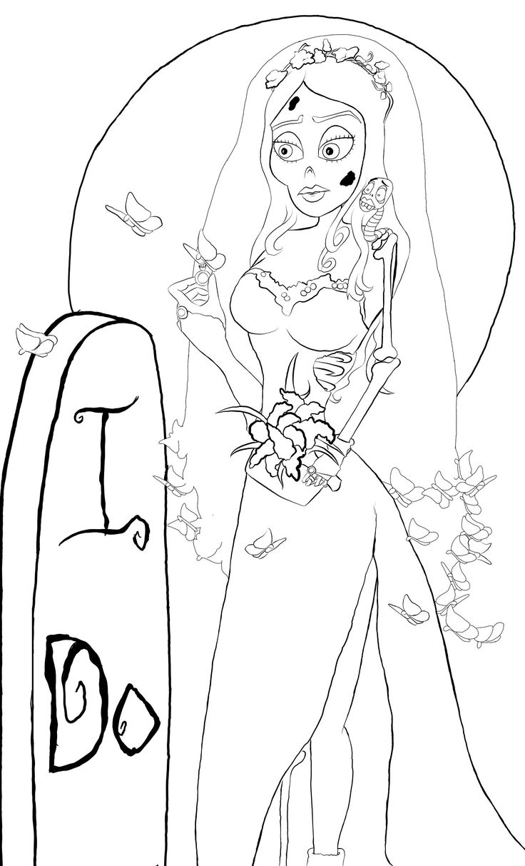 38+ Corpse bride coloring sheets information