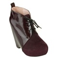 Senso - Penny I - Wedge Boots (Bordo & Suede)  Available at www.shoesonline.com.au