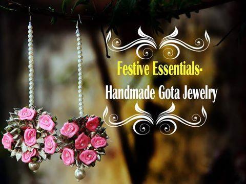 Gota jewelry is what you need for this wedding season! Alankar Wardrobe Call: 8890098535 #Accessories #Jewellery #AlankarWardrobe #CityShorJaipur