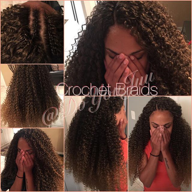 Long Crochet braids Check out my website at www.styleseat.com/DoYouJuu to book…