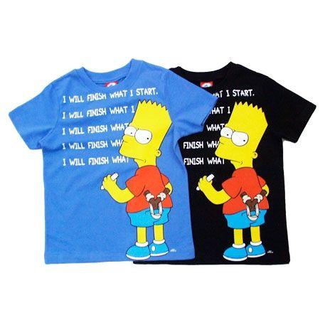 The Simpsons - Tričko Bart, dětské