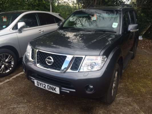 Used 2012 (12 reg) Grey Nissan Pathfinder 2.5 dCi Tekna 5dr for sale on RAC Cars
