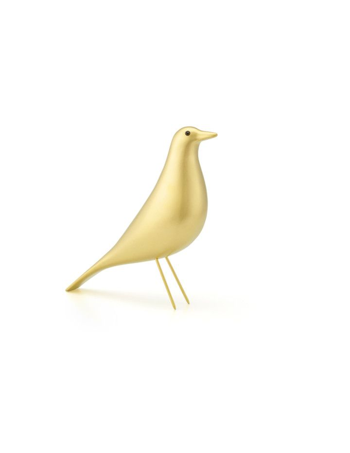 EAMES HOUSE BIRD – GOLDEN EDITION FRA VITRA