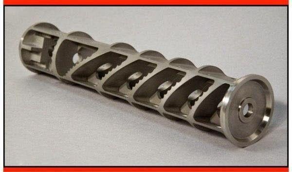 Схема глушителя в разрезе: Zen