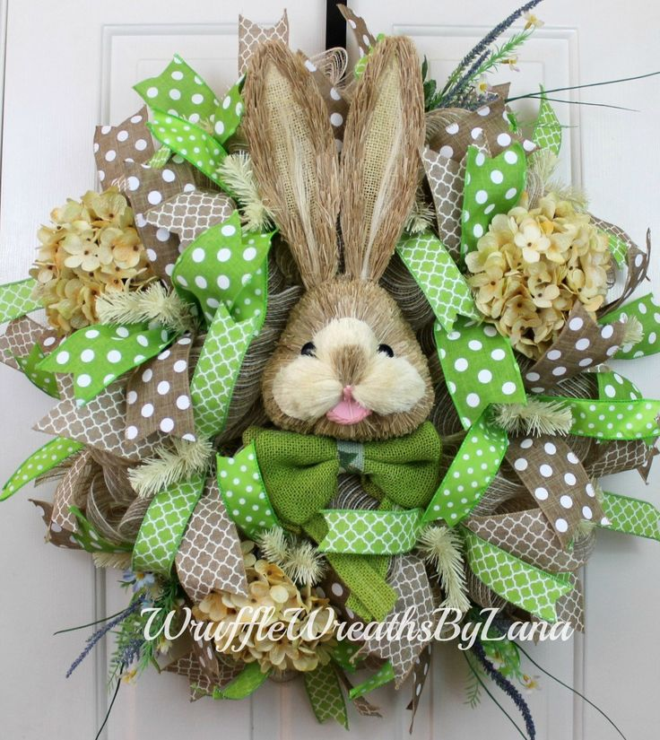 694 Best Easter Wreaths Images On Pinterest Easter