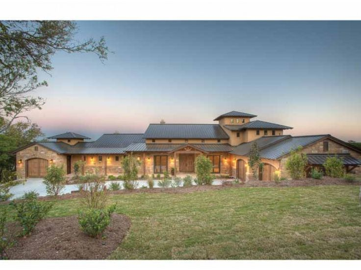 eplans prairie house plan hill country fusion home 4185 square feet and 4 bedrooms