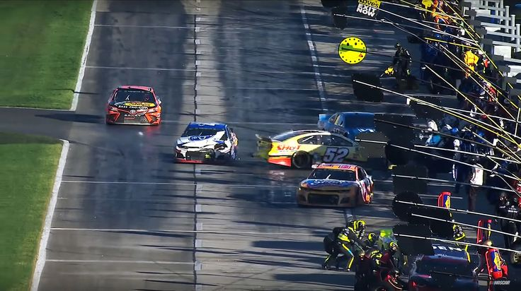 NASCAR crew member suffers injuries following pit road