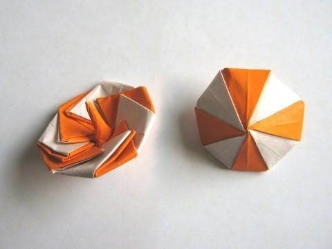 "Origami ""Spinning Top"" by Manpei Arai (Part 1 of 2)"