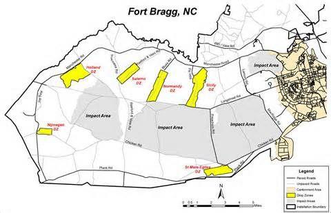 Ft Bragg Drop Zones 80 Duece Pinterest