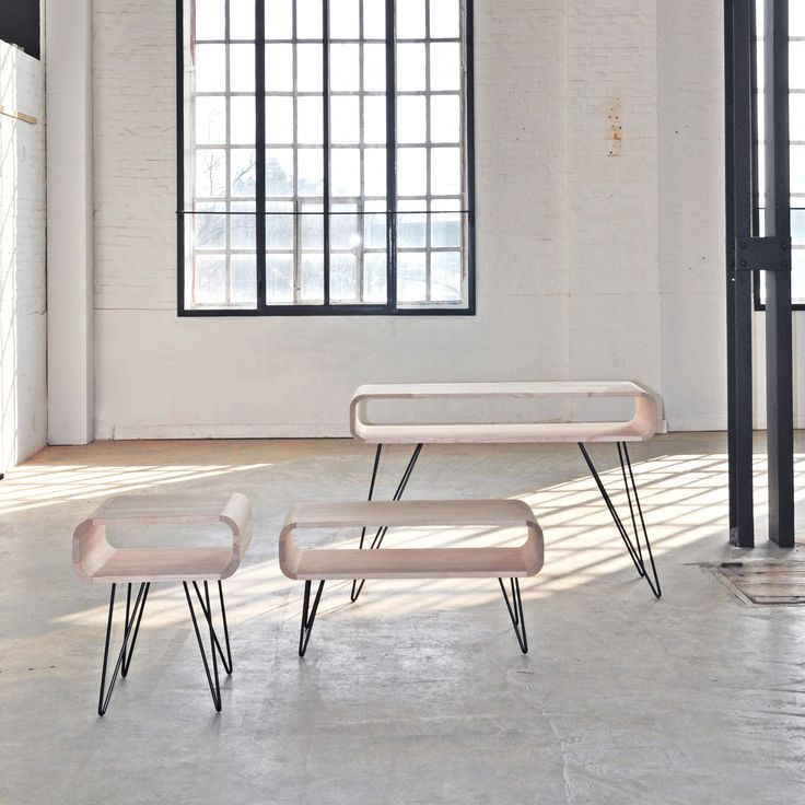 25 best table bois et fer ideas on pinterest brut et net espace vide and - Table bois et fer forge ...