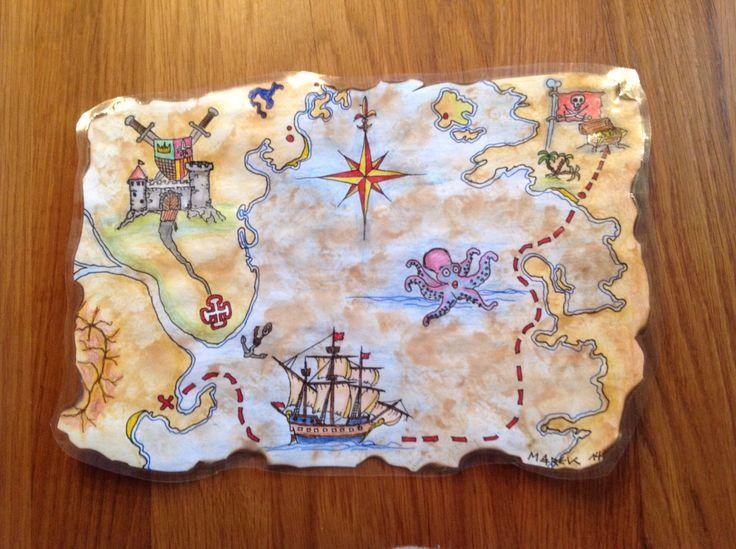 finn's schatzkarte  schatzkarte piratenschatzkarten