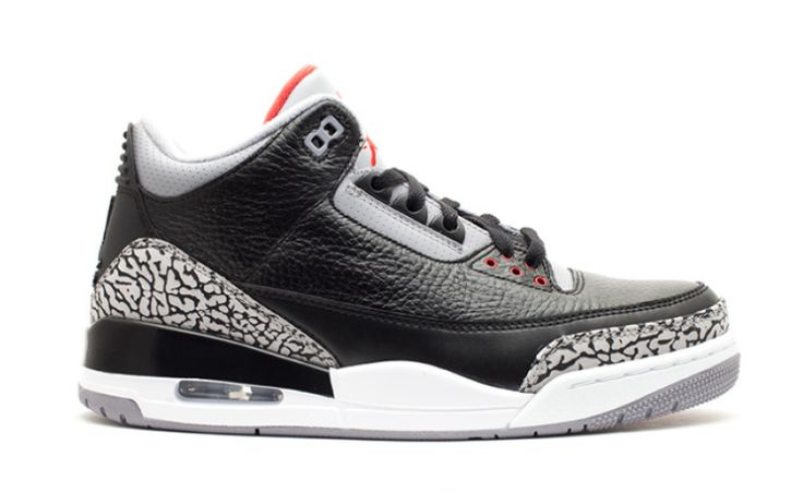 Release Date: Air Jordan 3 Black Cement (2018)