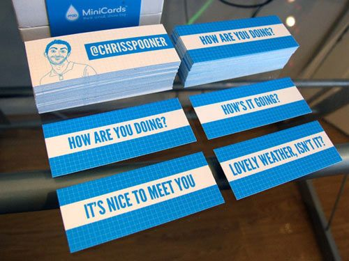 51 Unique Business Cards That Will Make Your Mind Explode | Inspiration