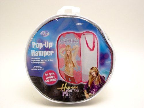 Disney Hannah Montana Special - Miley Cyrus Secret Pop Star Pop Up Hamper for Clothing and One ID Holder Set by Disney. $7.99. Bring the favorite friends to school, great incentive to go to School and enjoy their homework. Visit our Webstore in Amazon for More School Items - http://colorful-items.webstorepowered.com/. Super Saving compares to Retail Stores, No Waiting in Line. Disney Hannah Montana Special - Miley Cyrus Secret Pop Star Pop Up Hamper for Clothing...