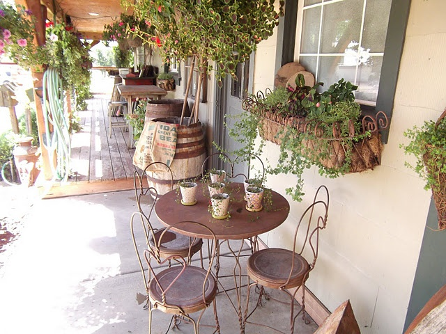 Peaceful Patio With Plants!