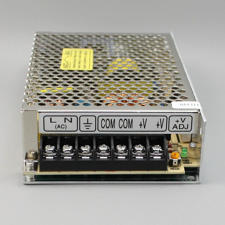 Switching Power Supply - Mini Size Series MS MSF - MS-100W Switch Mode Power Supply - Vanto Industrial Electric