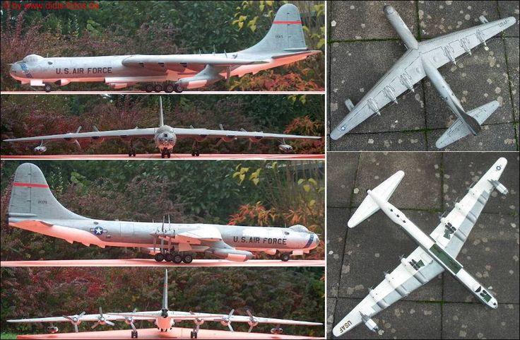 "Convair B-36 ""Peacemaker"" (Monogram 5703) 1:72"