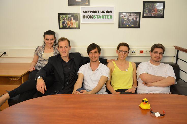 That's we are! The dream team of SolarFun.