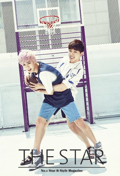 Teen Top - The Star Magazine August Issue '15 Chunji md Chanjo - TeenTop ❤️ #Chunji #Changjo #TeenTop #Angels