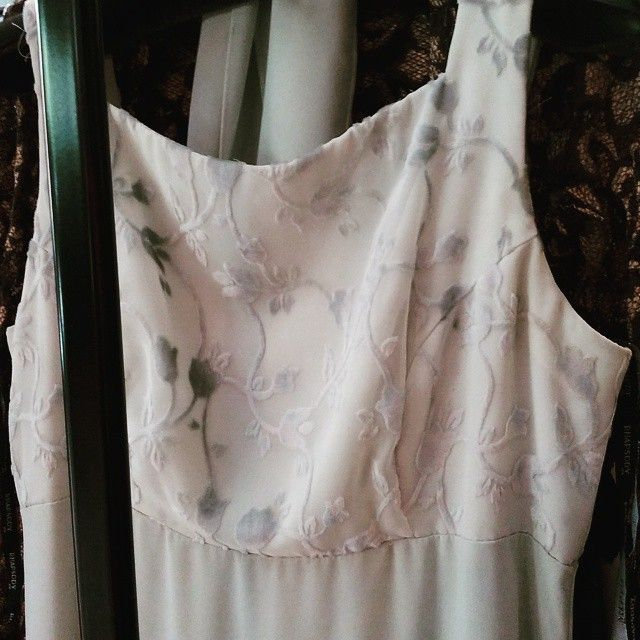 Vestido largo raphsody de gasa por 15€