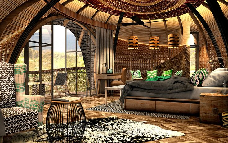Wilderness Safaris' Bisate Lodge #artistsimpression #Rwanda #luxurytravel #gorillatrek