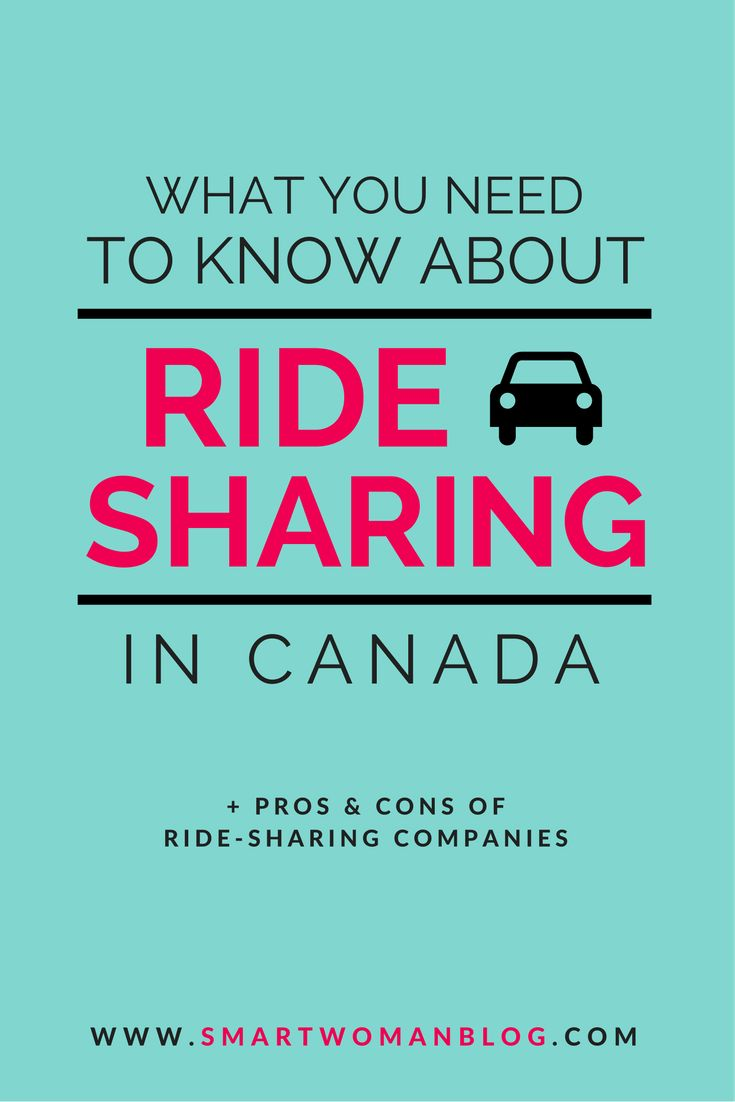 What You Need to Know About Ride-Sharing in Canada - Curious if you can save…