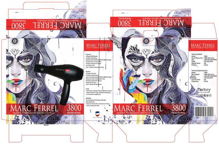 blow dryer graphic design