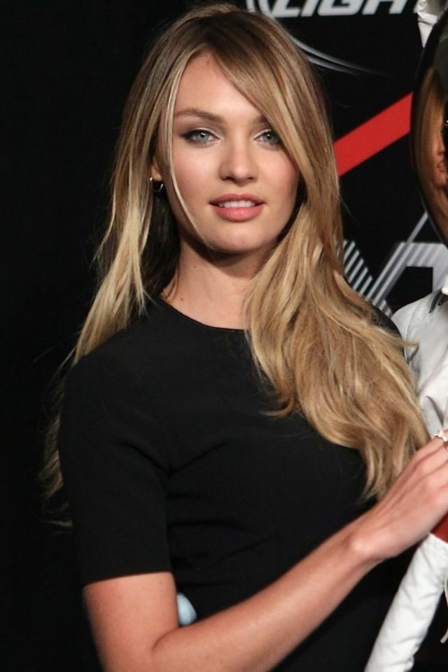candice swanepoel hair hair inspiration pinterest