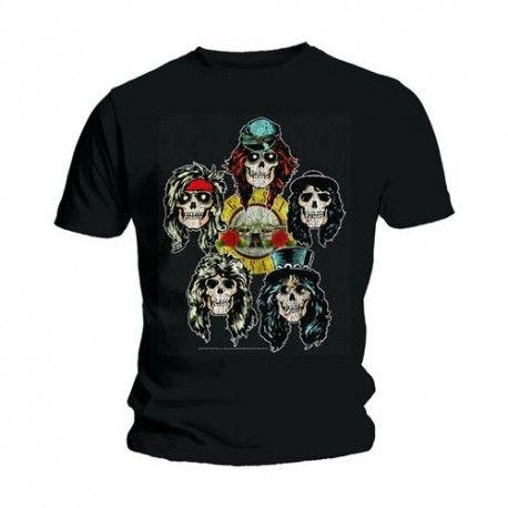 Tricou Guns N' Roses: Vintage Heads