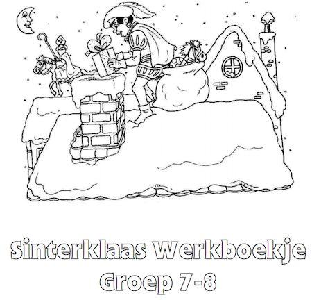 Sinterklaas Werkboekje Groep 7-8