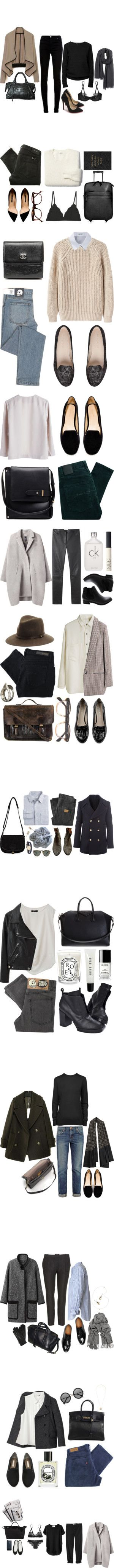"""New York in October"" by katie-marieferguson ❤ liked on Polyvore:"