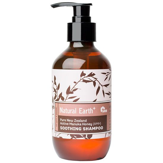 Natural Earth Manuka Honey Soothing Shampoo in a 300ml pump bottle. http://www.themotelshop.co.nz/collections/natural-earth-active-manuka-honey-hair-body-care/products/natural-earth-manuka-honey-shampoo