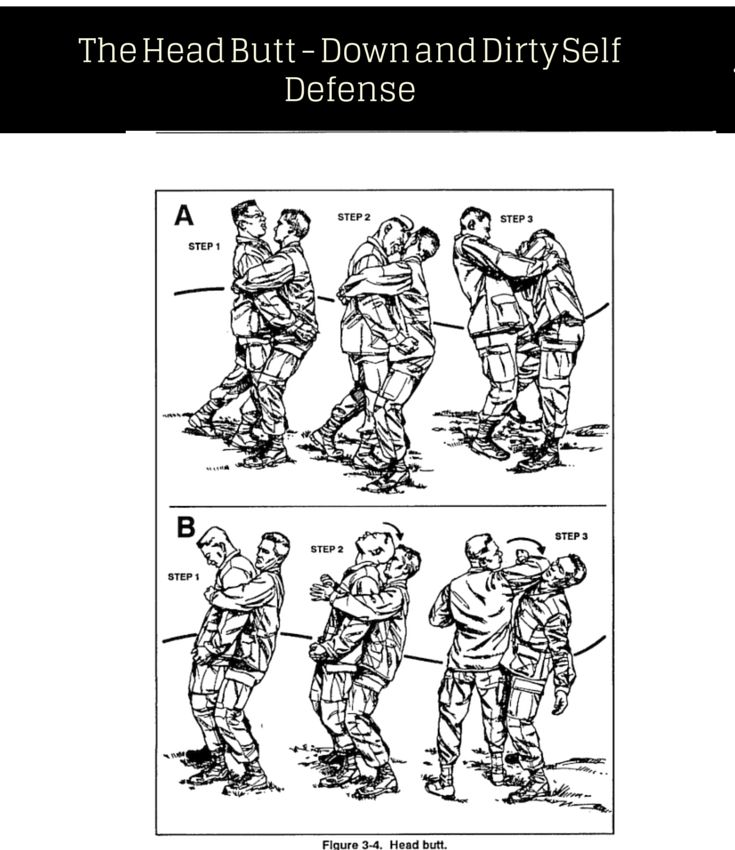 Head Butt Self Defense Tips This Is Dirty But Only