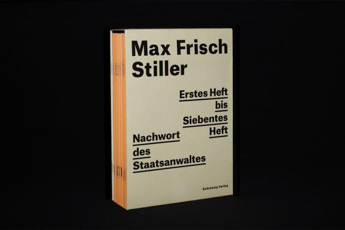 Max Frisch – Stiller : Typografie