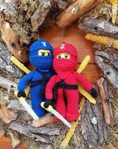Ninja Ninjago Häkeln Amigurumi Häkelanleitung Häckeln