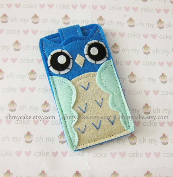 iPod+Nano+case+iPod+Nano+sleeve+iPod+Nano+owl+case+by+ohmycake,+$16.00